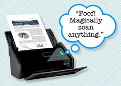 This week we're giving away a ScanSnap Wireless Scanner. (A 495 value.) Enter by Sunday, June 8, 2014 for a chance to win!