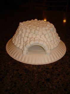 Play and Learn with Dana: Marshmallow Igloo Winter theme