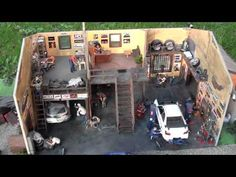 Diorama Garage - YouTube