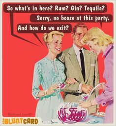 So what's in here?  Rum?  Gin?  Tequila?  Sorry, no booze at this party.  And how do we exit?