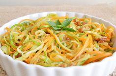 Espaguete de legumes - http://camilanacozinha.com/2015/01/07/espaguete-de-legumes/