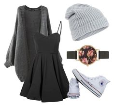 """""""Untitled #3"""" by machasoccio on Polyvore featuring Glamorous, Converse, Accessorize and Olivia Burton"""