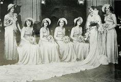 ( Paris ) September 1931 Mrs . Turqui (Miss Lebanon) born Laila Zoghbi . Great Weddings . Toilet Maison Thérèse Lyliane ( Miss Suzanne Imbert Dce . ) 7 Rue du 29 -Juillet