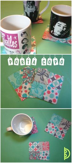 Porta copo | Coasters