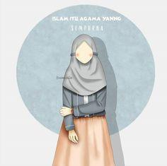Muslim Pictures, Islamic Pictures, Chibi Wallpaper, Cartoon Wallpaper, Girl Cartoon, Cartoon Art, Islamic Cartoon, Anime Muslim, Hijab Cartoon