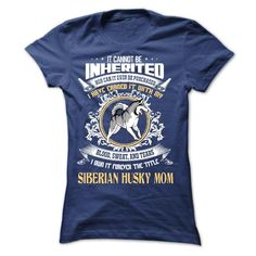 (New Tshirt Produce) Siberian Husky Mom [Tshirt design] Hoodies Tee Shirts