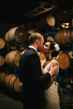 Are You in the Mood for a Chic Winery Wedding in Brooklyn? Lace Weddings, Romantic Weddings, Real Weddings, Country Weddings, Funny Wedding Photos, Vintage Wedding Photos, Vintage Weddings, Rainy Wedding, Wedding Dj