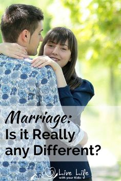 As far as how the Bible tells us to relate to each other, is the marriage relationship really any different?