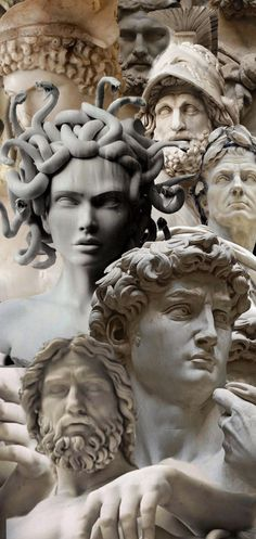 Greek Mythology Gods, Greek Gods And Goddesses, Greek Goddess Art, Greek Art, Roman Sculpture, Sculpture Art, Sculptures, Greek Statues, Wow Art