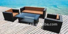 stacking rattan garden sofa set