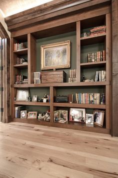 how to make rustic bookshelf - Google Search