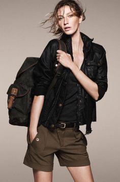 Gisele Bunchen for Esprit's A/W 2011-12