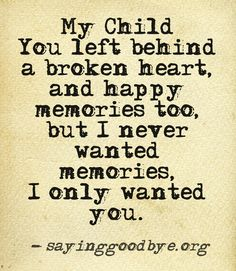 We will always remember...Happy Birthday Baby David