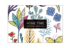 """マイ @Behance プロジェクトを見る : 「ZINE """"HOME TIME""""」 https://www.behance.net/gallery/47654911/ZINE-HOME-TIME"""