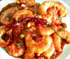 Shrimp in Gravy with Homemade Shrimp Stock