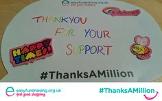 """""""@easyuk #ThanksAMillion to our supporters £16.00 so far, keep up the good work!"""" #Giving #Fundraising #Charity"""