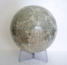 Vintage Moon Globe - 1969 Rand McNally w/Original Booklet. $170.00, via Etsy.