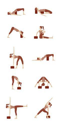 741 mejores imágenes de Yoga block  4a54cc97fa00