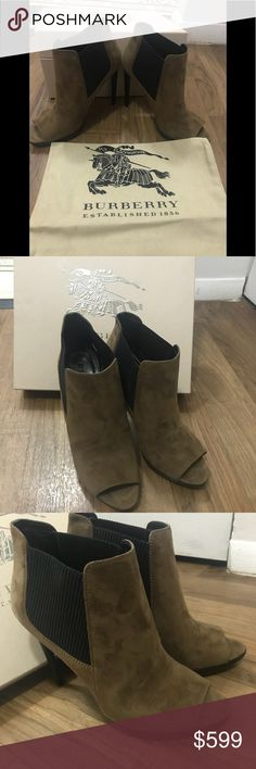 Spotted while shopping on Poshmark: Sexy Burberry peep toe ankle boots! Burberry Shoes, Burberry Women, Peep Toe Ankle Boots, Bootie Boots, Plus Fashion, Fashion Tips, Fashion Design, Fashion Trends, Booty