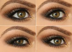 Step by Step Smokey Brown Eyeshadow Tutorial!