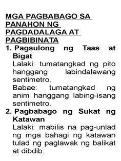 Image result for mga inaasahang kakayahan at angkop sa panahon ng pagdadalaga at pagbibinata Projects To Try, Math Equations