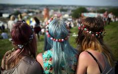 the girls on the festival like to have a other style then the rest of the people