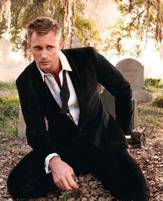 Alexander Skarsgard...I'm ready for True Blood already! #TeamEric