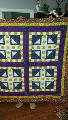 First quilt I ever made.