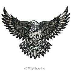 tattoo eagle chest * tattoo eagle - tattoo eagle arm - tattoo eagle small - tattoo eagle back - tattoo eagle old school - tattoo eagle feminine - tattoo eagle geometric - tattoo eagle chest Tattoos 3d, Biker Tattoos, Kunst Tattoos, Trendy Tattoos, Tribal Tattoos, Tattoos For Guys, Sleeve Tattoos, Tribal Eagle Tattoo, Black Eagle Tattoo
