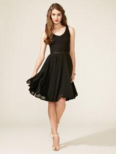 Z spoke black dress korean