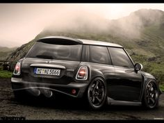 Dream... To one day be able to drive again and own a Mini Cooper