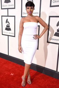 Simply stunning. Jennifer Hudson proved that often less is more in Tom Ford.