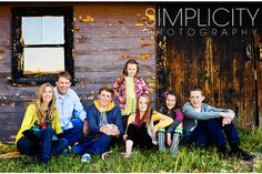 great larger family pose