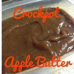 Easy Crock pot Apple Butter