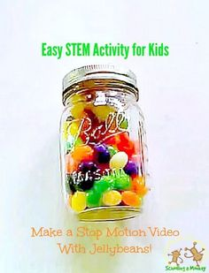 Want to know how to make a stop motion video? It's easy! Kids will have a blast making their own stop motion videos using household objects! Science Activities For Kids, Stem Science, Easy Science, Science Experiments Kids, Stem Activities, Learning Activities, Homeschooling Resources, Science Ideas, Science Fair