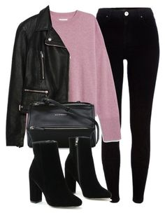 """Untitled #6382"" by laurenmboot ❤ liked on Polyvore featuring River Island, Zara and Givenchy"