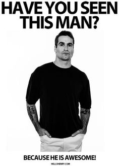 Hello Mr. Henry Rollins. You are indeed awesome.
