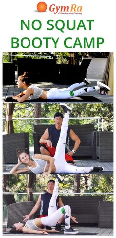 This routine contains 12 floor exercises that will give squats & lunges a run for their money! Follow Phong & Tatiana to sculpt, slim, lift, and tone your booty! Click the image to watch the entire workout