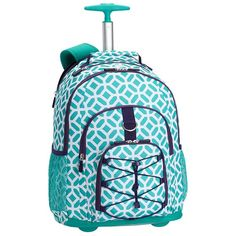 Gear-Up Ceramic Pool Peyton Rolling Backpack | PBteen