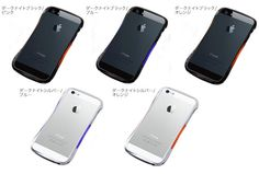 CLEAVE ALUMINIUM BUMPER Mighty for iPhone 5s/5