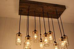 jar lights for kitchen