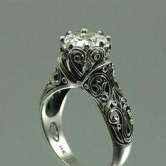 vintage wedding ring ~ lovely
