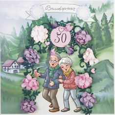 Yvonne Creations - Funky Nanna and Grandpa - Annette Stol Print Pictures, Big Boys, Wedding Cards, Diana, Boy Or Girl, Embellishments, Bubbles, Fruit, Drawings