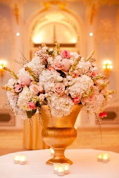 Emma Lappin Flowers - blush - quicksand, hydrangea, tuberose and broom