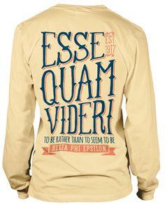 Very Cute D Phi E T-shirt!
