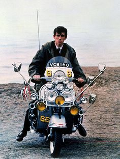 "For my husband...Mods with clean-cut fashions an bands or British bands influenced by them, such as the Small Faces and the Who: the three-button, 14"" bottom, mohair suit, fishtail parkas, Fred Perry polos, Hush Puppies, a Vespa with 20 or ..."