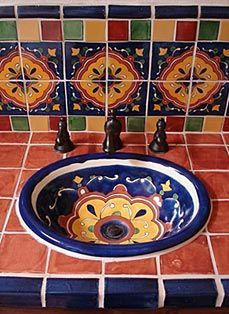HISPANIC TILES bathroom on Pinterest | Mexican Tiles, Mexican ...