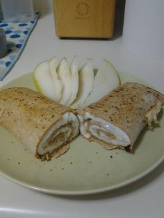 Egg white wrap with cheese