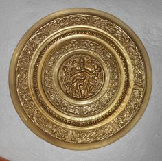 Antique Brass Wall Plates Beauteous India Vintage Brass Wall Plate Peacock Design Very Decorative Piece Design Decoration