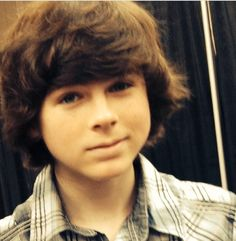 Chandler Riggs! My everything, just kidding, he's one of the reasons why I live